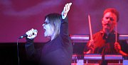 Koncert skupiny Oceán se zpěvačkou Jitkou Charvátovou v českobudějovickém DK Metropol.