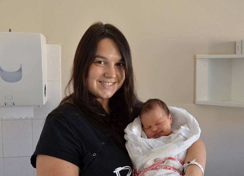 Šarlota Hubáčková z Milevska. Prvorozená dcera Moniky a Lukáše Hubáčkových se narodila 14. 6. 2021 v 19.42 hodin. Při narození vážila 3380 g a měřila 50 cm.