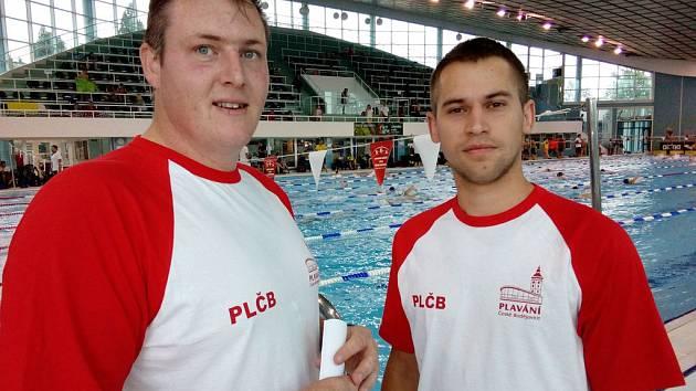 Filip Pytel a Tomáš Vymyslický (PlČB).