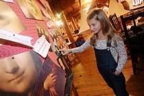 Písecká galerie Sladovna otevřela velkou hravou výstavu, k níž autory inspiroval Leonardo da Vinci. Potrvá do 30. dubna 2017.