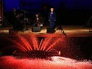 I letos přilákaly Múzy na vodě Budějčáky na břehy slepého ramene Vltavy. Sérii koncertů zahájila Eva Urbanová.