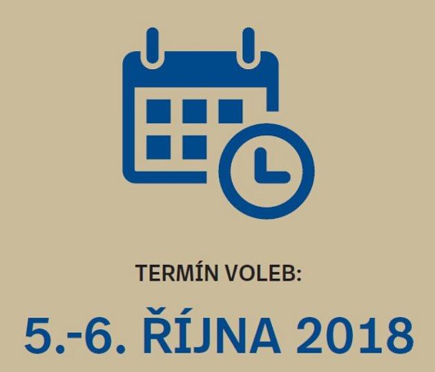 Termín komunálních voleb 2018.