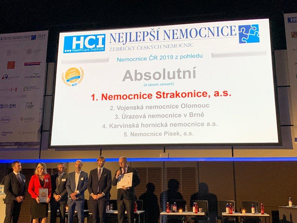 V celostátní soutěži získaly jihočeské nemocnice skvělá umístění.