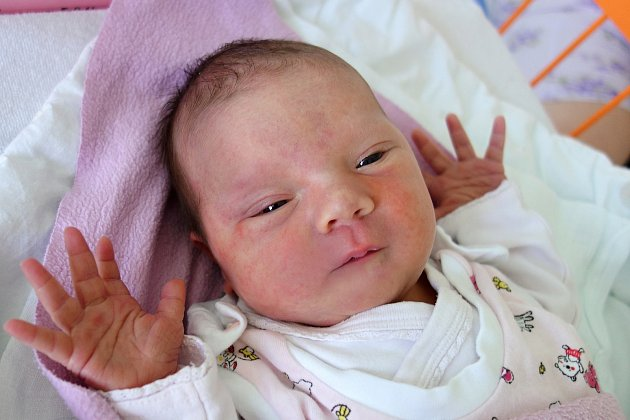 V Českých Budějovicích vyroste Klára Maláková, která se narodila 28. 8. 2017 v 5.04 h.Po porodu vážila 3,822 kg.
