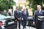Návštěva prezidenta republiky Miloše Zemana v Jihočeském kraji.