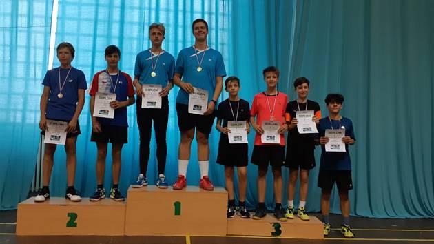 Ve Strakonicích sbírali úspěchy badmintonisté ze Sokola.