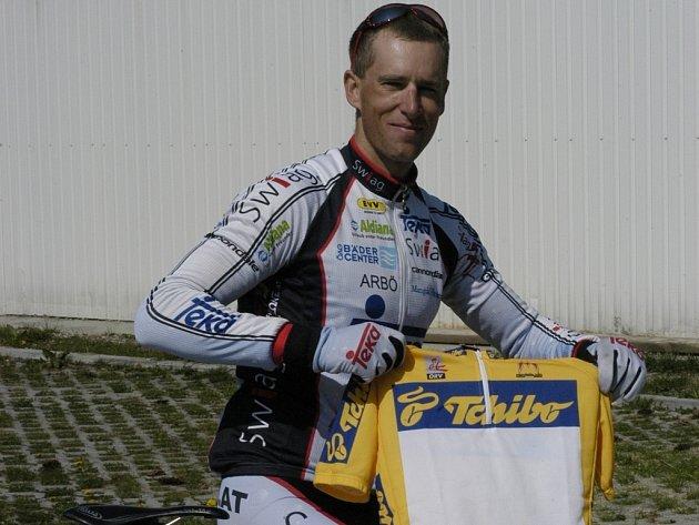 Vítěz úvodního závodu Rakouského poháru Adam Homolka.