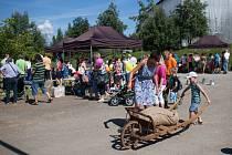 Farmářské slavnosti v Meziříčí u Malont.