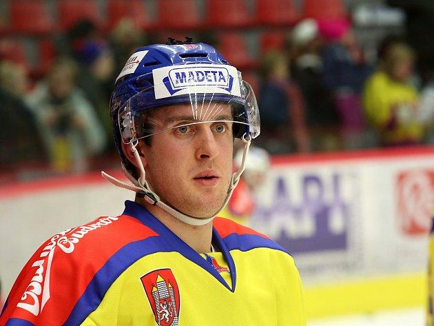 Roman Bernát, mladý hokejista se po vážné nehodě a amputaci nohy vrátil na jeden zápas do Motoru