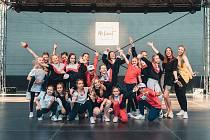 Taneční představení taneční skupiny No Limit v letním kině Háječek