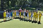 Na snímku hráči reprezentačního týmu LFŠ na turnaji s Juventusem Turín.