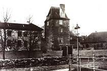 KDYSI: Věž Manda před rokem 1904.