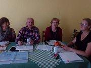Volby v Čížkrajicích.