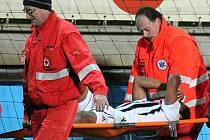 Proti Mladé Boleslavi nedohrál pro zranění brazilský záložník Sandro, jenž se zlomeným kotníkem nestihne ani začátek jarní sezony.