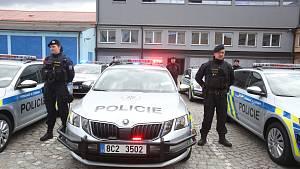 Policejní auta České Budějovice
