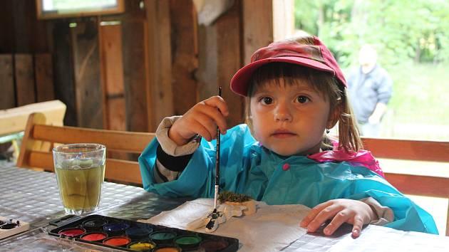 Dětský den na mlýně v Hoslovicích.