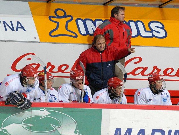 Milan Kupka se stal novým hlavním trenérem extraligové juniorky.