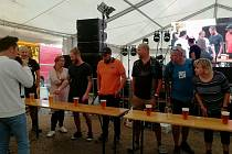 Na Septembeer festu v Horní Plané se návštěvníci dobře bavili.