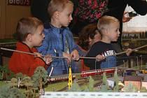 Budějovičtí železniční modeláři zvou zájemce na výstavu modelů.