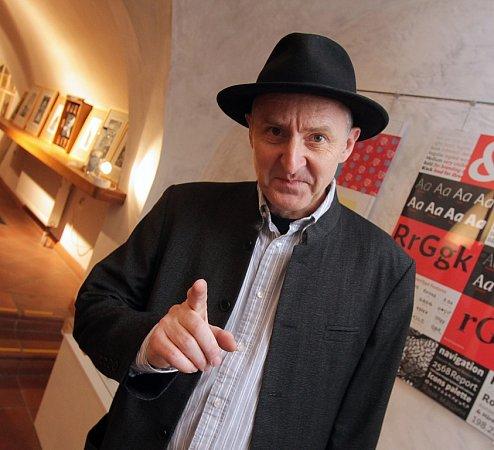 František Štorm, typograf, grafik, šéf metalové legendy Master'sHammer.
