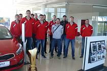 Volejbalisté Jihostroje vyrazili do nové sezony