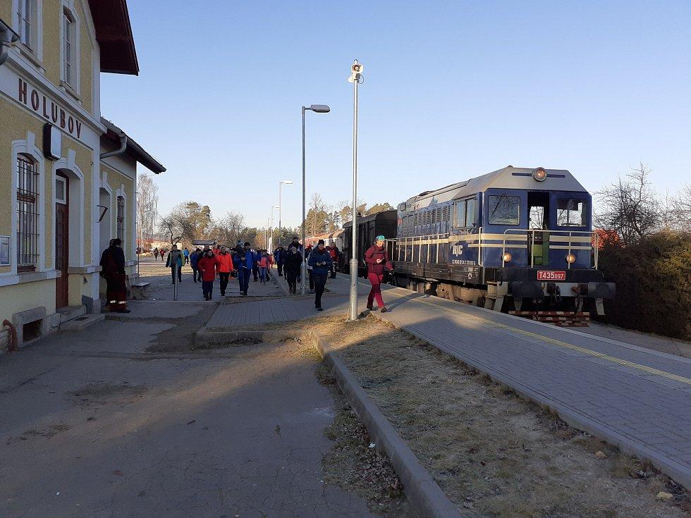 Na Nový rok se konala tradiční výprava na Kleť. Z Českých Budějovic vyjížděl poprvé retrovlak.