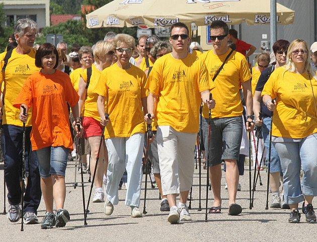 Nordic walking v Českých Budějovicích