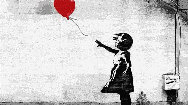 Banksyho holčička.