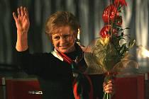 Loni předávala ocenění Věra Čáslavská