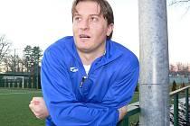 Milan Tomka, odchovanec Týna, si zahrál v dresu Hrdějovic proti svému mateřskému klubu v neděli v Zimní lize na Hluboké.