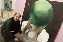 Jana Farmanová vystavuje v Alšově jihočeské galerii