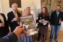 Křest knihy 100 zajímavostí ze starých Českých Budějovic.