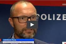 Policejní ředitel Pilsl ve zprávách ORF.
