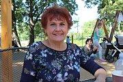 SPOKOJENOST. Dvacet šest let je Jarmila Mandžuková na volné noze a je šťastná, že vše má ve svých rukou.