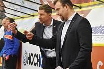 Antonín Stavjaňa (vlevo) a Martin Štrba