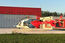 Nová základna letecké záchranky v Plané