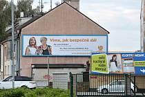 Předvolební billboard ČSSD. Známka odborníka na marketing: 3.