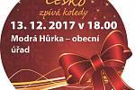 Česko zpívá koledy v Modré Hůrce.