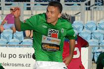 Exbudějovický David Lafata třemi góly pokořil své Č. Budějovice.