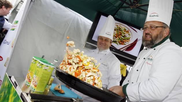 Už pojedenácté budou moci návštěvníci na českobudějovickém výstavišti obdivovat um špičkových kuchařů a ochutnávat různé speciality.