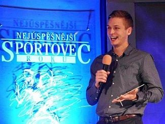 Petr Kváča na vyhlášení Sportovce roku.