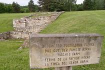Místo bývalého statku rodiny Horákových z Lidic.