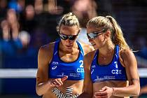 Turnaj Světového okruhu v plážovém volejbalu, 31. května 2019 v Ostravě.