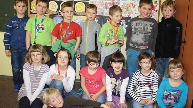 Žáci 1.B ZŠ Ševětín.