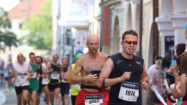 České Budějovice, RUN CZECH, půlmaraton, 3. 6.2017