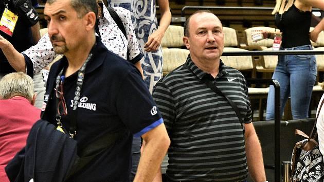 Basketbalový trenér Petr Martínek.
