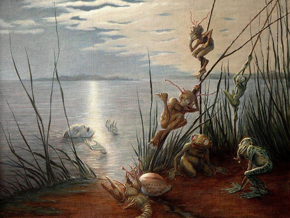 Volyňské muzeum vystavuje rozsáhlý soubor kreseb a obrazů Aloise Boháče, jehož fantaskní svět byl plný skřetů, šotků, trpaslíků či vodníků. Jednu jeho potvůrku lze potkat i v okolních městěch, muzeum podle ní totiž nechalo ušít kostým.
