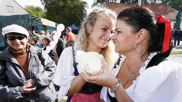 Už šestý ročník Zelnobraní se konal v sobotu ve Vidově na Českobudějovicku. Návštěvníci oslav vytvořili mimo jiné nový český rekord v navlékání hlávek na šňůru vedle sebe. Celkem jich vedle sebe umístili 1574 a korále z nich měřily dohromady 368 metrů.