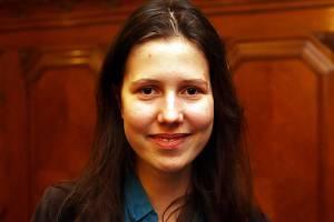 Anna Kovárnová (na snímku) vyhrála české kolo překladatelské soutěže.