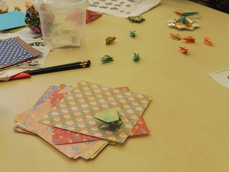 V jazykové škole Akai Kiku jste mohli okusit něco z japonské kultury.